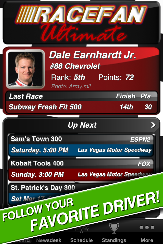 Race Fan Ultimate: NASCAR screenshot 1
